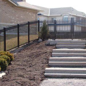 Aluminum Yard Fence