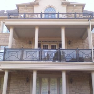 Exterior Balcony Railings