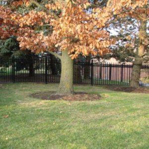 Aluminum Garden Fencing
