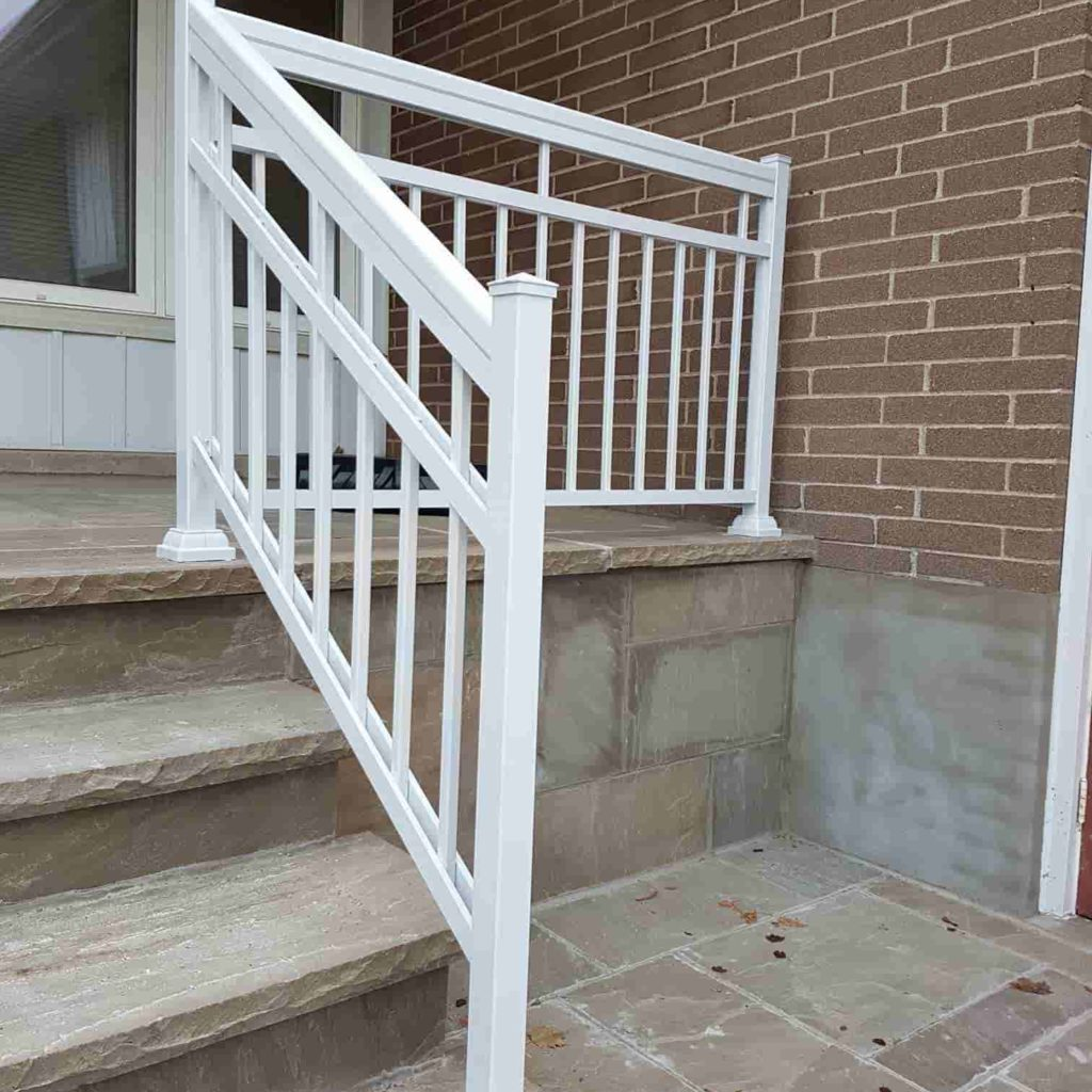 Exterior Stair Handrail Systems: Aluminum Outdoor Stair Railings, Railing System, Ideas & DIY