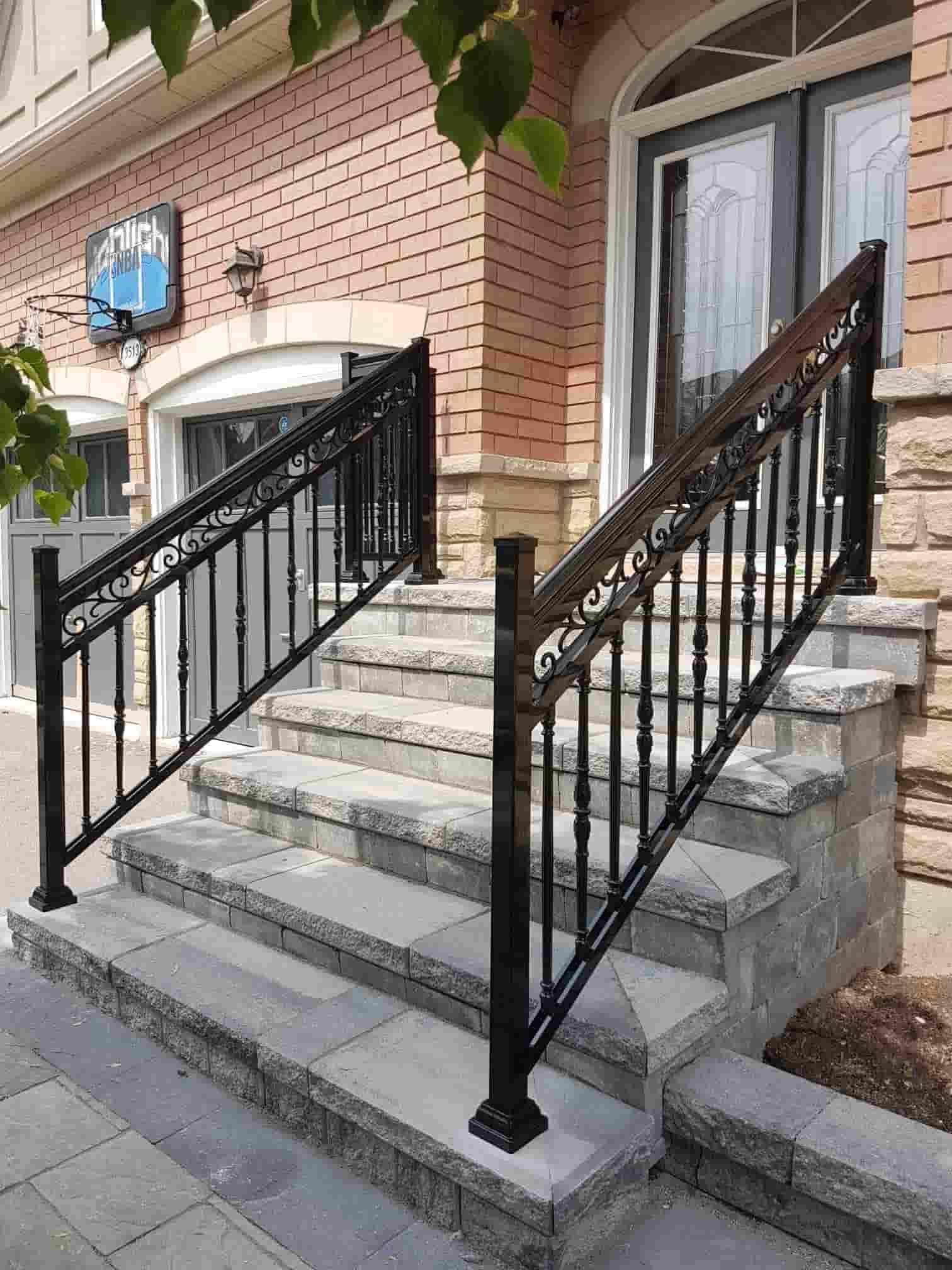 Aluminum Outdoor Stair Railings, Railing System, Ideas & DIY