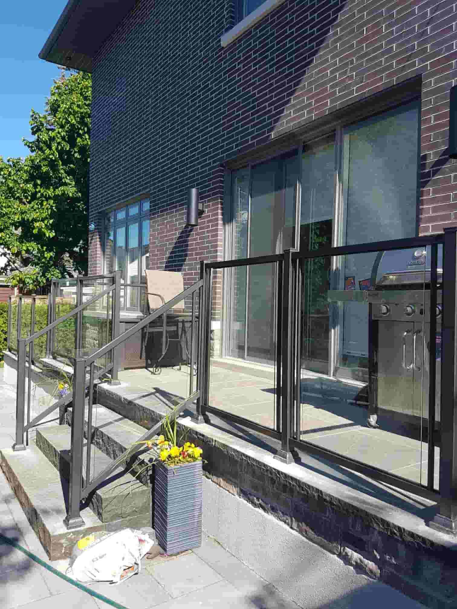 Aluminum Outdoor Stair Railings, Railing System, Ideas & DIY
