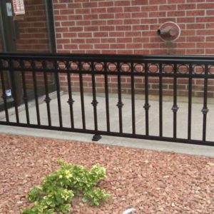 Decorative Aluminum Baluster