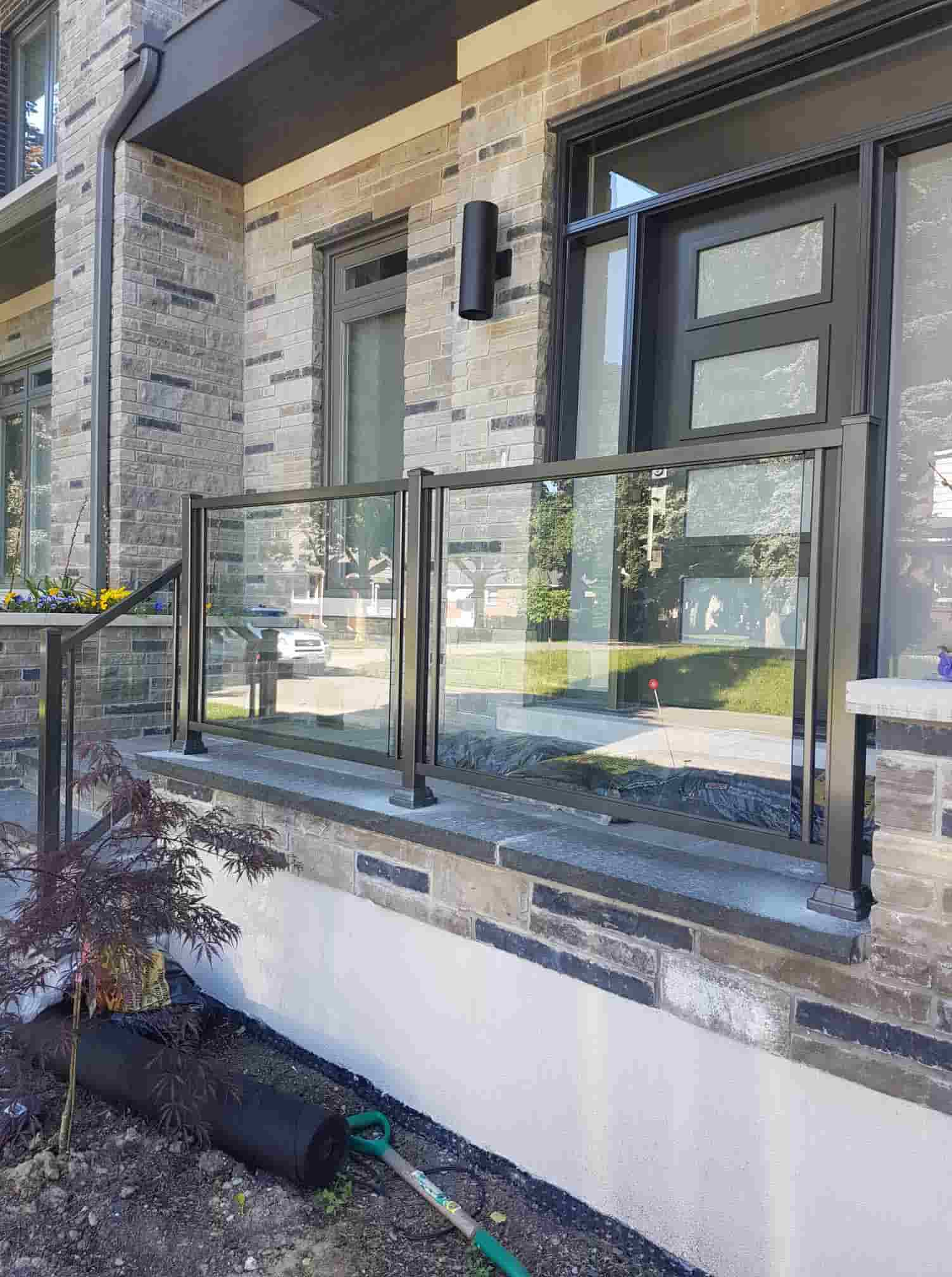 Aluminum Outdoor Glass Railings Railing Systems