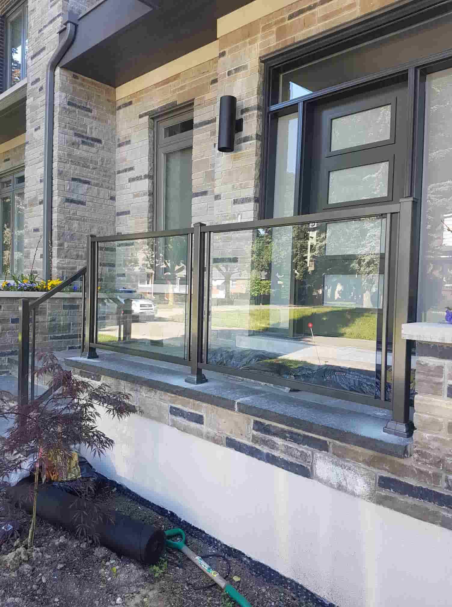 Aluminum Outdoor Glass Railings Railing Systems