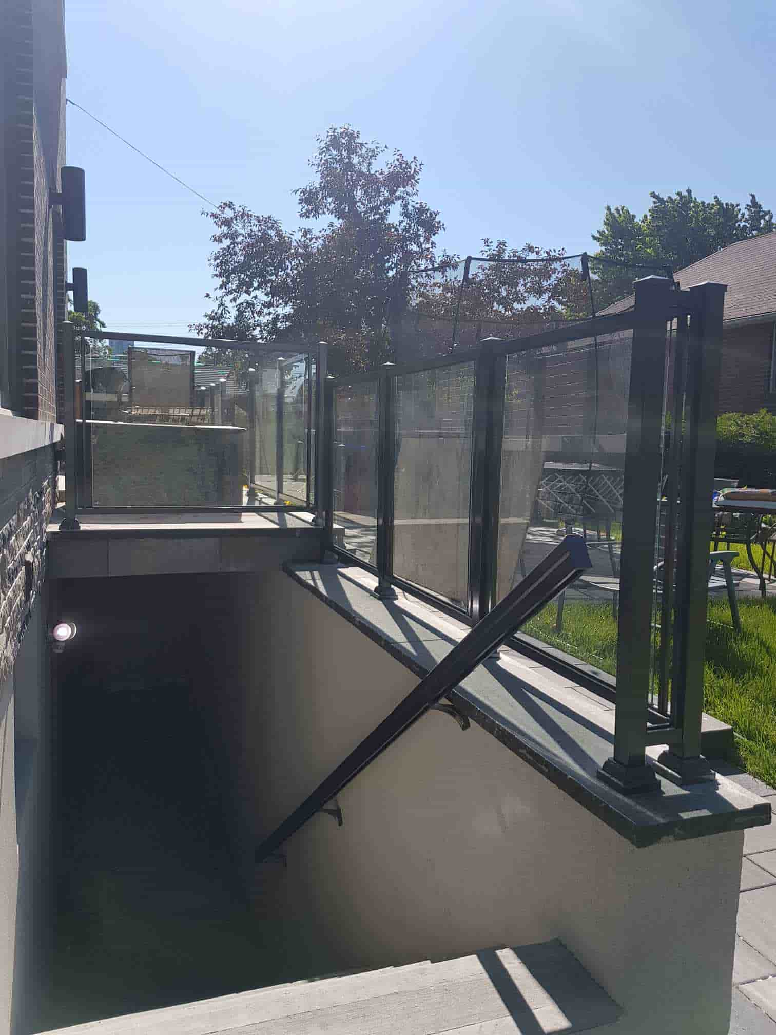 Aluminum Outdoor Glass Railings, Railing Systems