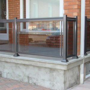 Glass Porch Railing