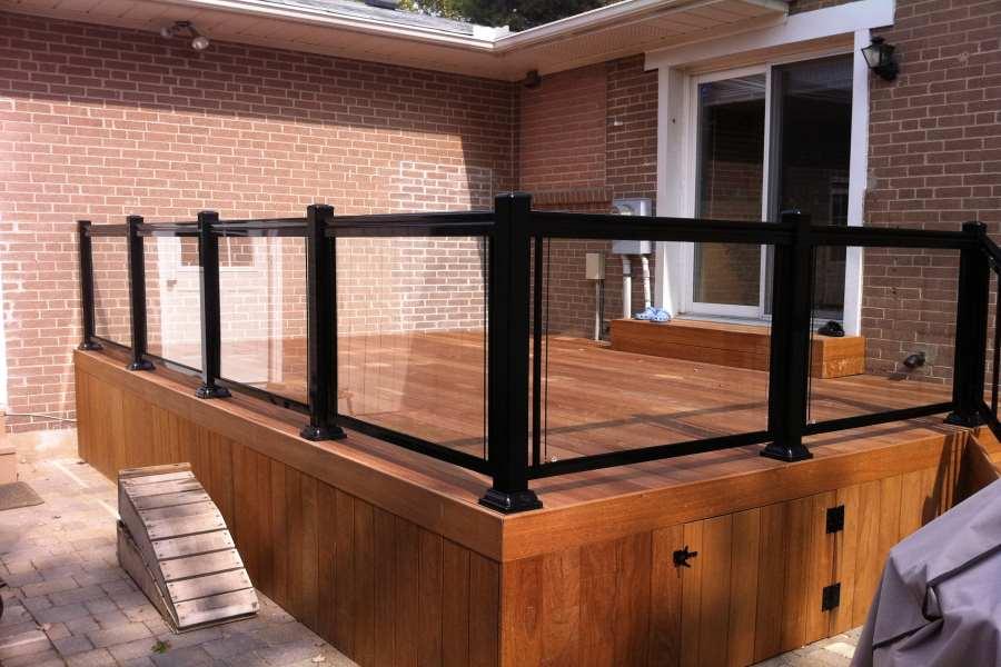 Modern Aluminum Deck Railings Railing Systems Amp Designs